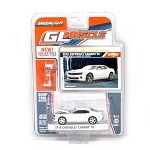 Greenlight GL Muscle Series: 2010 Chevy Camaro SS (White) 1/64 Scale