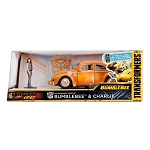 Hollywood Rides: Transformers BUMBLEBEE VW Beetle & Charlie 1/24 Scale