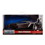 Hollywood Rides: Marvel Avengers Black Panther Lykan Hypersport 1/32 Scale