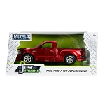 Just Trucks Series: 1999 Ford F-150 SVT Lightning (Red w. Black Stripes) 1/24 Scale