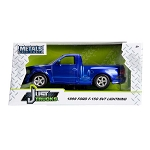 Just Truck Series: 1999 Ford F-150 SVT Lightning (Blue/White Stripes) 1/24 Scale
