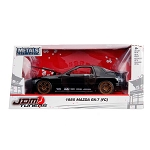 JDM TUNERS: 1985 Mazda RX-7 (FC) Black 1/24 Scale