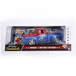 DC Comics Bombshells: SUPERGIRL & 1956 Ford F-100 Pickup 1/24 Scale