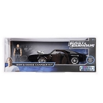 Hollywood Rides: Fast & Furious Dodge Charger R/T with Dom's Figure