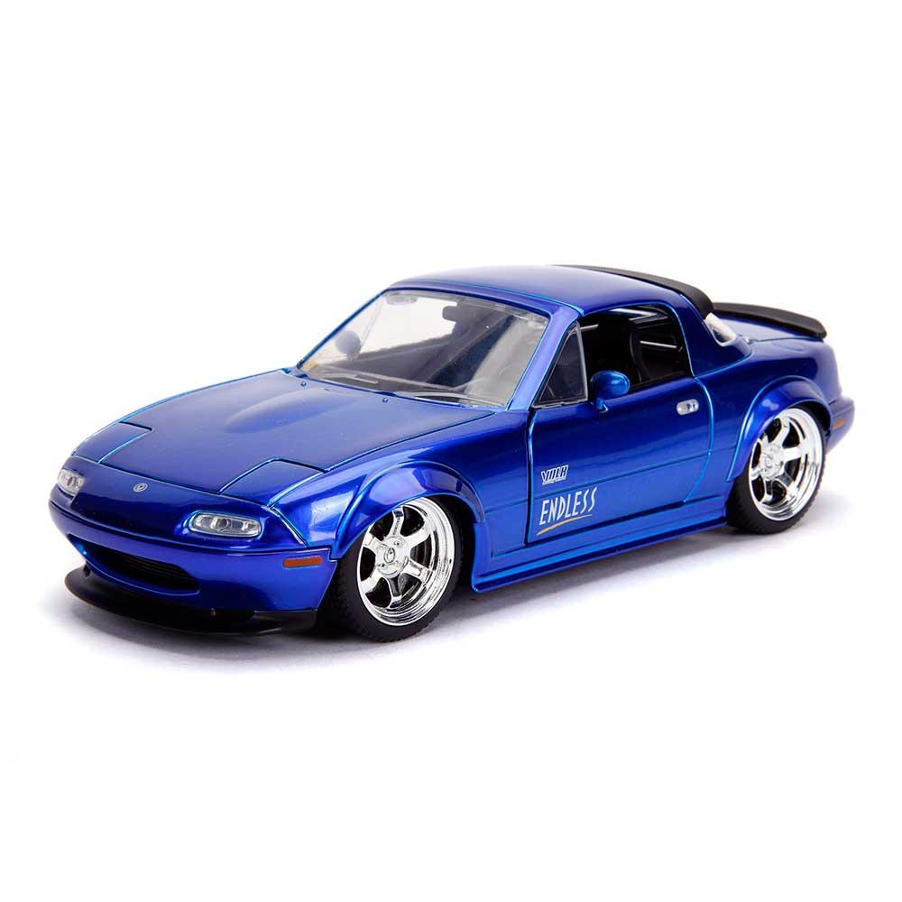 JDM TUNERS: 1990 Mazda Miata (Blue) 1/24 Scale