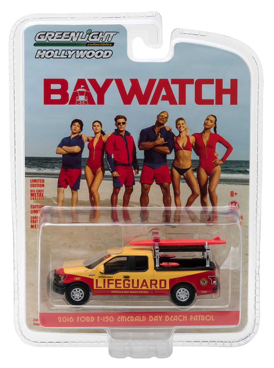 Toys 4 Trucks Green Bay : Greenlight hollywood series ford f quot baywatch