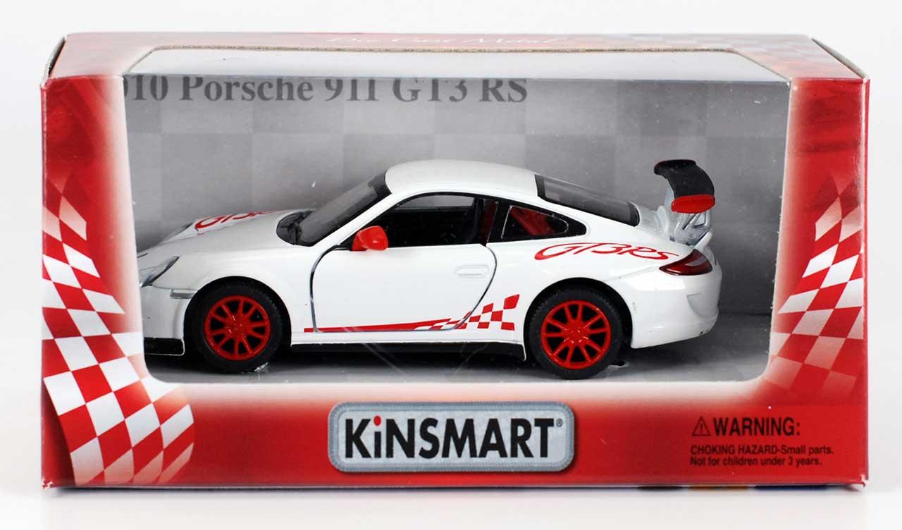 5 Die Cast Porsche 911 Gt3 Rs White