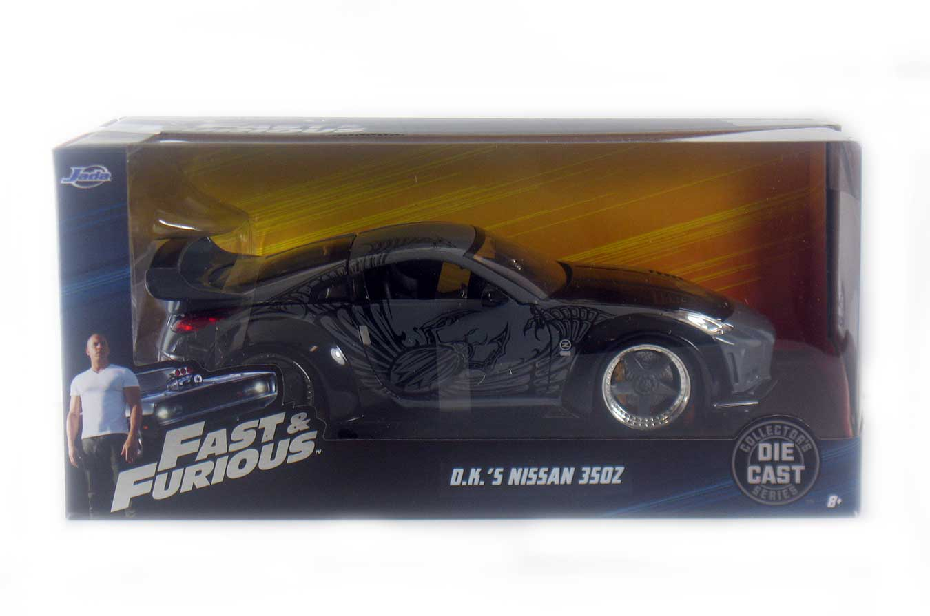 Fast Furious D K S Nissan 350z 1 24 Scale