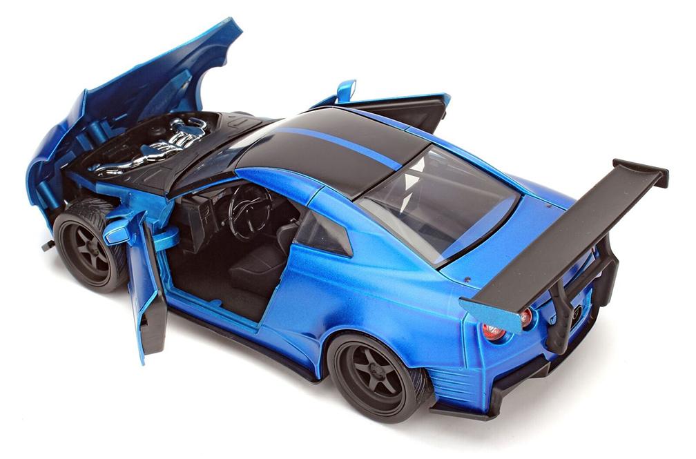 R35 Fast /& Furious 2009 Nissan GT-R Ben Sopra 98271 1//24 Jada Toys