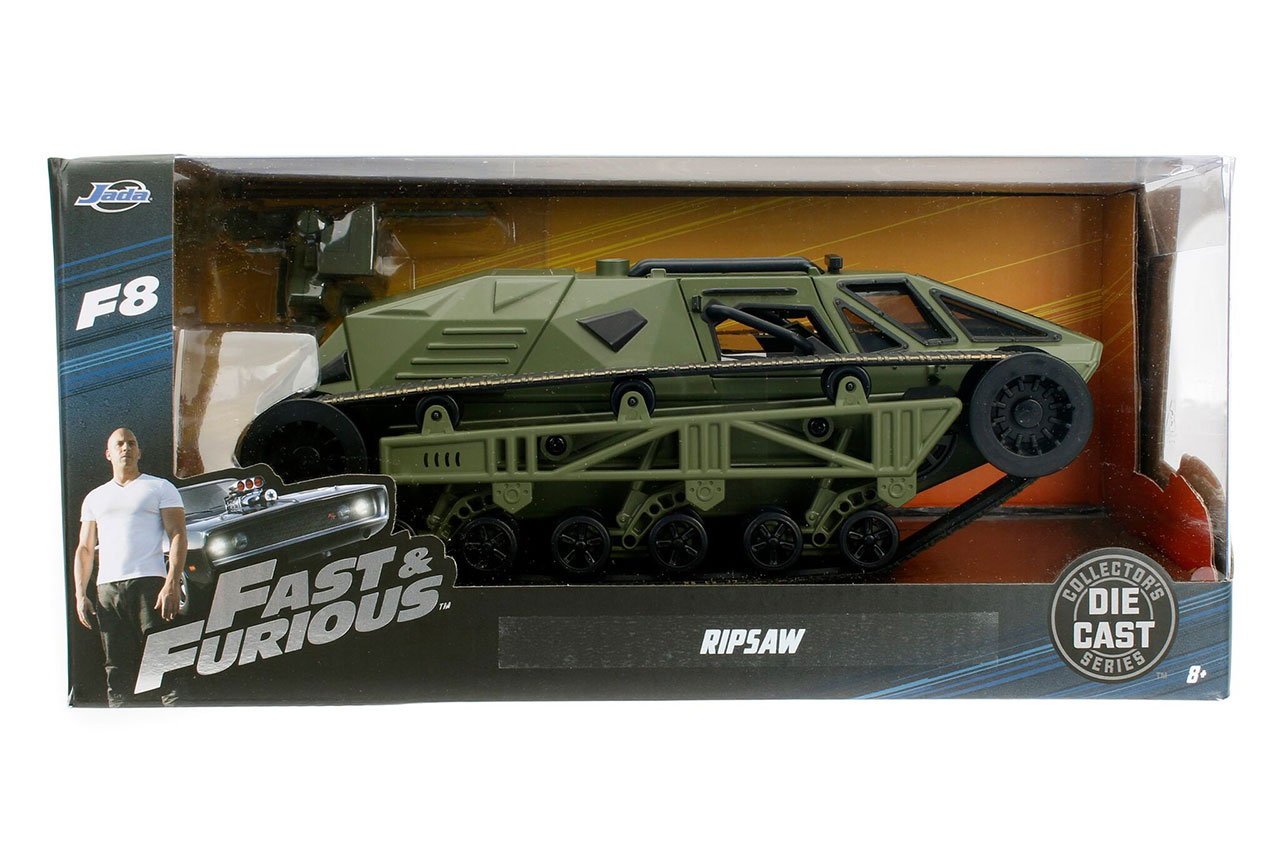 "Fast And Furious 8 Cars List >> Fast & Furious 8: ""Ripsaw"" Tank 1:24 Scale"