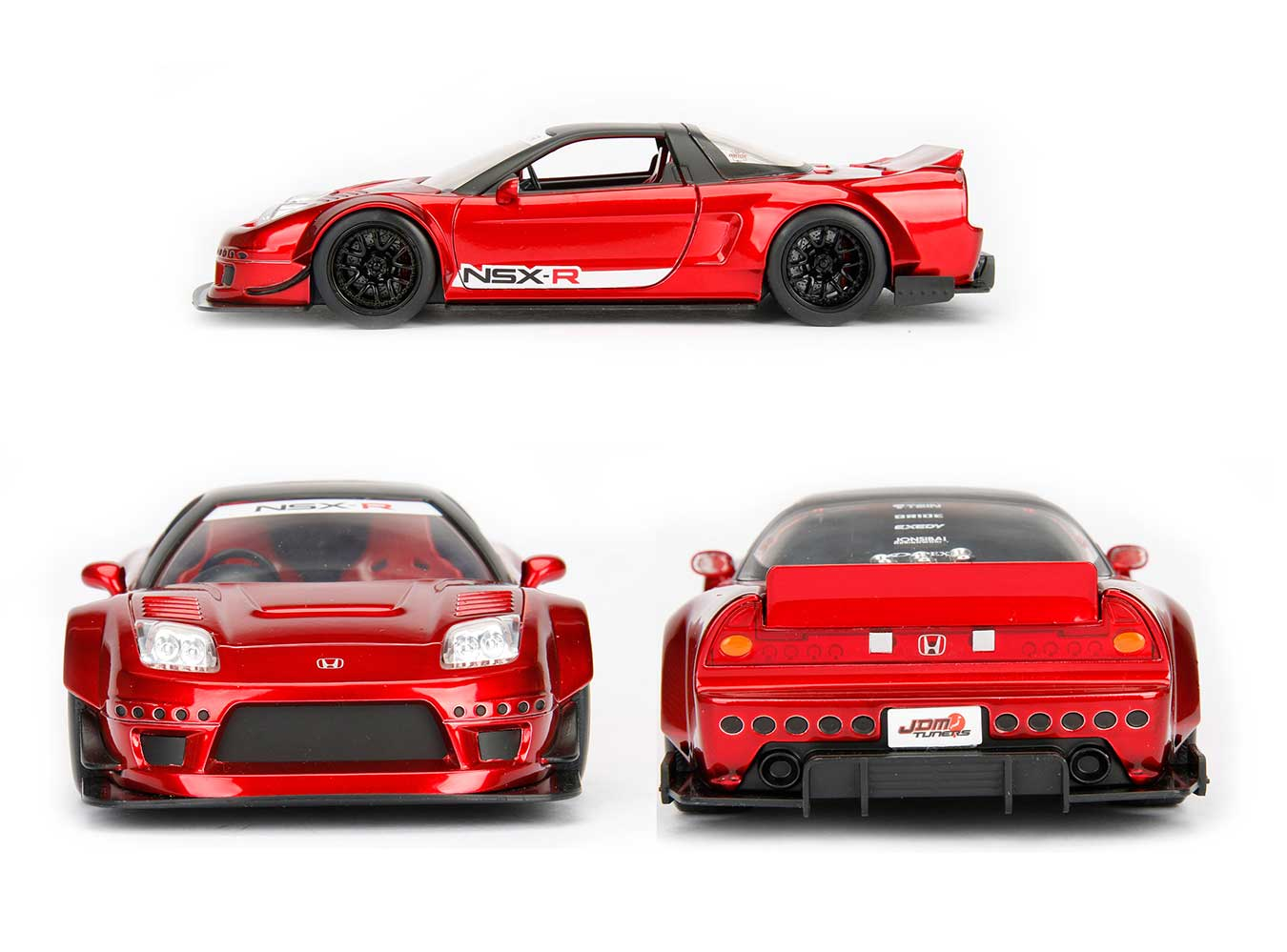 jdm tuners 2002 honda nsx type r japan spec candy red 1 24 scale. Black Bedroom Furniture Sets. Home Design Ideas