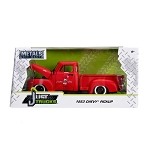 Just Trucks Series: 1953 Chevy Pickup Truck (Red) 1/24 Scale