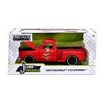Just Truck Series: 1969 Chevy C-10 Stepside (Matte Red) 1/24 Scale
