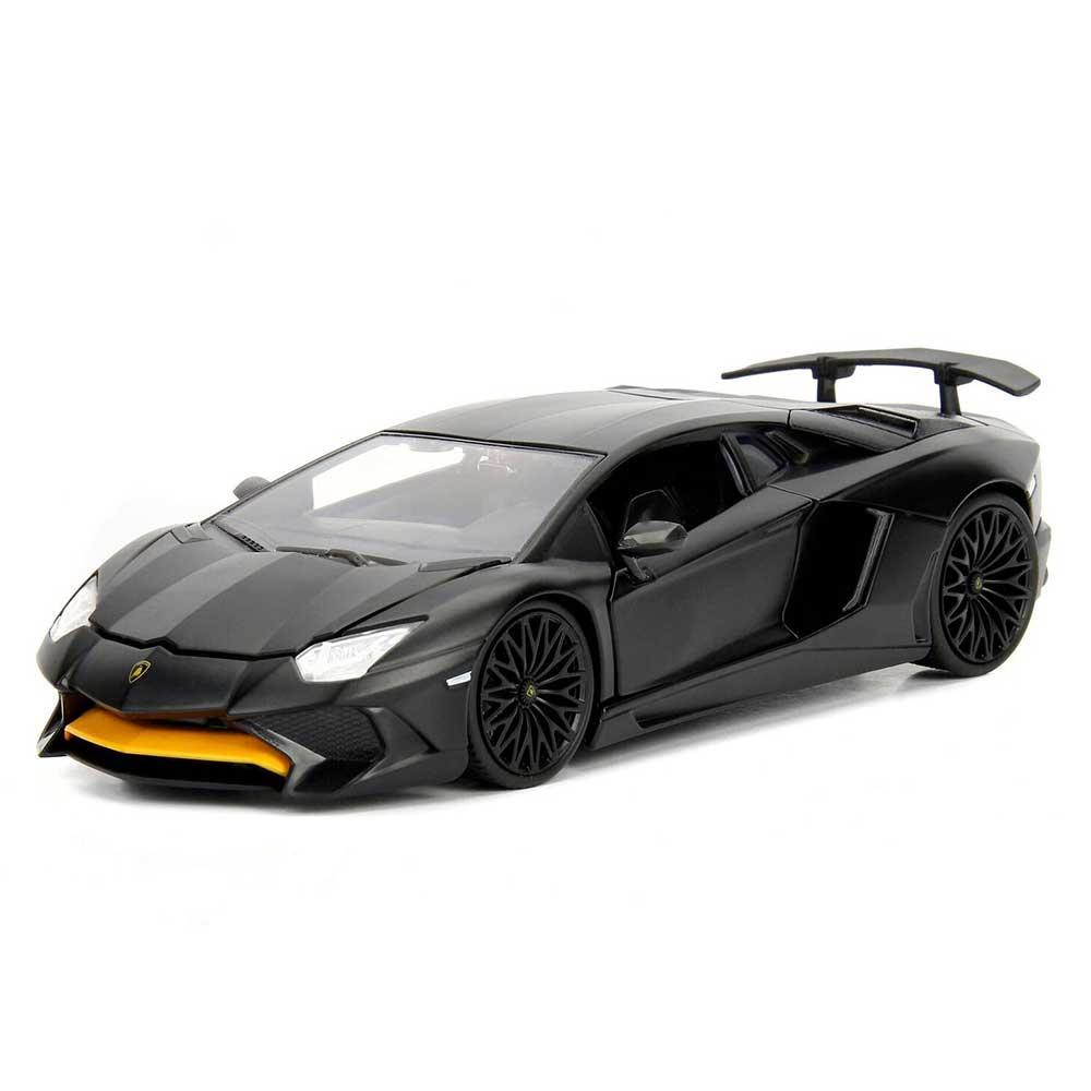 Hyperspec Series Lamborghini Aventador Sv Matte Black 1 24 Scale