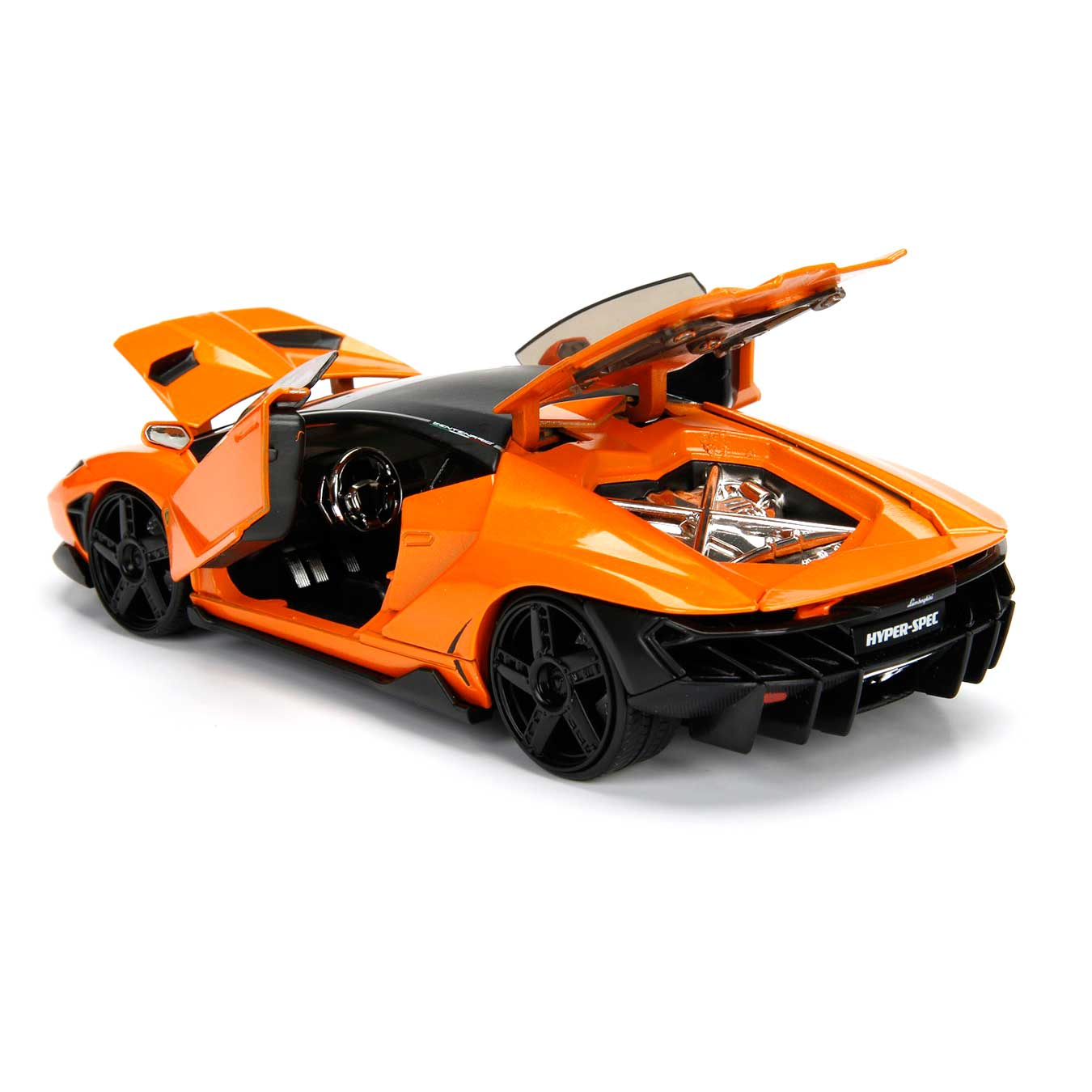 Hyperspec Series 2017 Lamborghini Centenario Orange 1 24 Scale