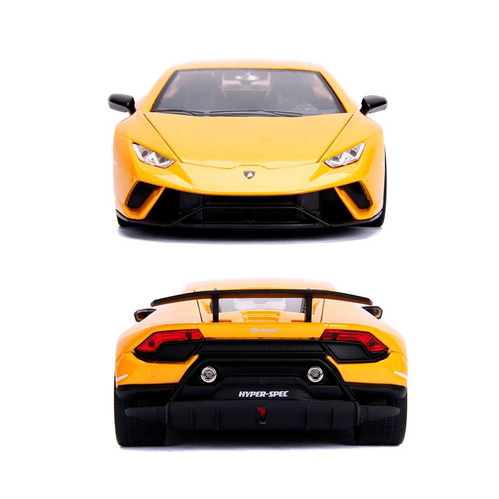 Hyperspec Series Lamborghini Huracan Performante Yellow 1 24 Scale