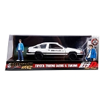 Hollywood Rides: INITIAL-D 1986 Toyota Trueno (AE86) 1/24 Scale with Takumi Figure