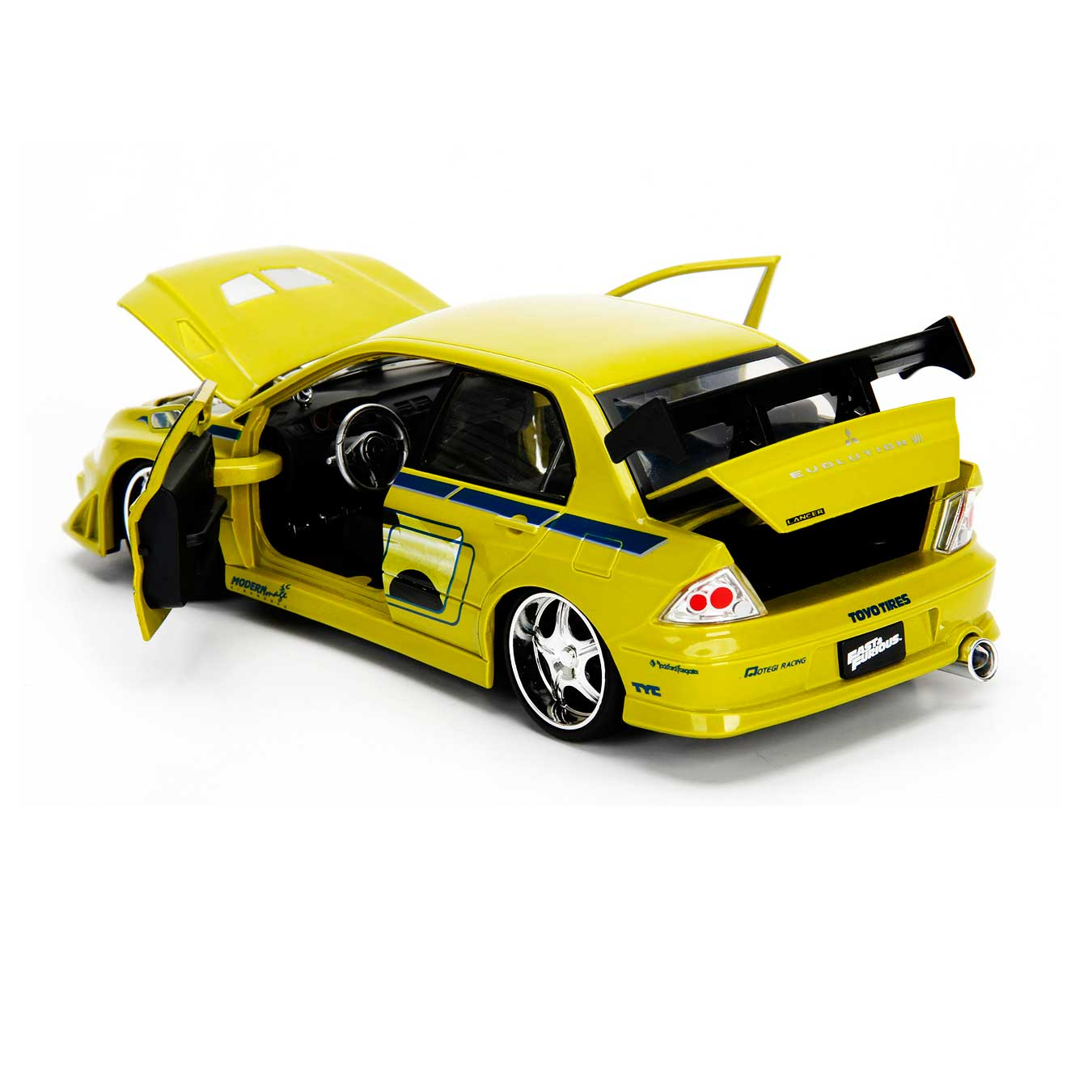 remote controlled models with Fast Furious Brians Mitsubishi Lancer Evo 7 124 Scale P 697 on Boeing 727 further Jana as well 80s Theme Cutout furthermore Saber C Series likewise Print Toys Mattel Unveils 300 3D Printers Kids Reveals HOVERBOARD Inter  Connected House Barbie.