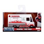 Hollywood Rides: Deadpool Food Truck (White) 1/32 Scale