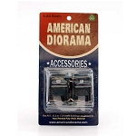 American Diorama: Set of 2 Mail Box 1/24 Scale