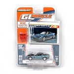 Greenlight GL Muscle Series: 2010 Chevy Corvette Z06 (Blue) 1/64 Scale