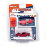 Greenlight GL Muscle Series: 2010 Chevy Corvette Z06 (Red) 1/64 Scale