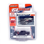 Greenlight GL Muscle Series: 2010 Dodge Challenger R/T (Black) 1/64 Scale