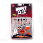 Hobby Gear: 10-PC Construction Set 1/24 Scale