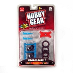 Hobby Gear: 12-PC Garage Accessories Set 1/24 Scale