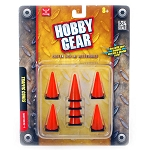 Hobby Gear: 8-pc Traffic Cones Custom Display Accessories 1/24 Scale