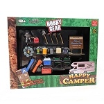 Hobby Gear: 19pc Set Happy Camper Set 1/24 Scale