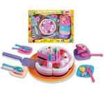 22-PC Time To Celebrate Cake Playset