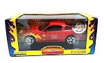 Muscle Car Garage: 2005 Ford Mustang GT (Red with Flames) 1/24 Scale