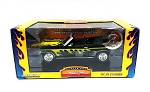 Muscle Car Garage: 1969 Chevy Camaro Convertible (Black with Flames) 1/24 Scale