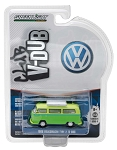 Greenlight V-DUB Series: 1969 Volkswagen T2 Type 2 with Roof Rack 1/64 Scale