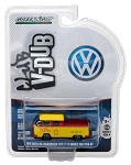 Greenlight V-DUB Series: 1976 VW T2 Type 2 Double Cab Pick-Up - Shell Oil 1/64 Scale