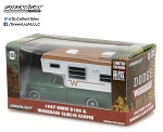 Greenlight: 1967 Dodge D100 & Winnebago Slide-In Camper 1/64 Scale