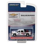 Greenlight Hobby Exclusive: 2015 Chevy Silverado with Safety Equipment 1/64 Scale