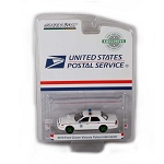 GREEN MACHINE! Hobby Exclusive: 2010 FCV Police Interceptor USPS 1/64 Scale