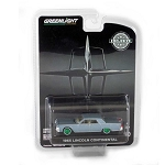 GREEN MACHINE! 1965 Lincoln Continental (Madison Gray Metallic) 1/64 Scale