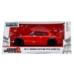 JDM TUNERS: 1971 Nissan Skyline 2000 GT-R (Red) 1/24 Scale