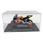 IXO Models Mini Motorcycles: 2003 Honda RC211V #46 V. Rossi 1/24 Scale