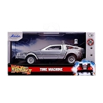 Jada Hollywood Rides: DeLorean Time Machine Back to the Future II 1/32 Scale