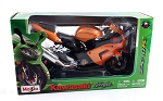 Maisto Motorcycle Series: Kawasaki Ninja ZX-10R 1:12 Scale (Orange)