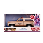 Jada Hollywood Rides: Stranger Things Hopper's Chevy Blazer 1/32 Scale