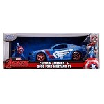 Jada Hollywood Rides: Captain America & 2006 Ford Mustang GT 1/24 Scale