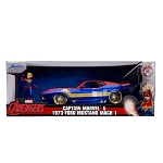 Jada Hollywood Rides: Captain Marvel & 1973 Ford Mustang Mach I 1/24 Scale