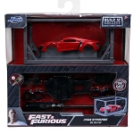 Jada Hollywood Rides: Fast & Furious Build n Collect Lykan Hypersport 1/55 Scale