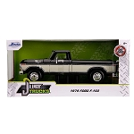 Jada Just Trucks Series: 1979 Ford F-150 Pickup Truck (Black/White) 1/24 Scale