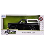 Jada Just Trucks Series: 1980 Chevy K5 Blazer Off-Road (Matte Black) 1/24 Scale